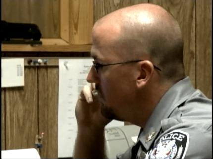Former Fairland Police Chief Enters Guilty Plea