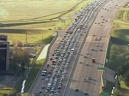 Tulsa Traffic Accident Ties Up Morning Commute
