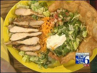 Marinated Fajita Chicken Salad