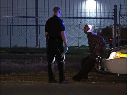 Sand Springs Police Chase Ends With Arrest