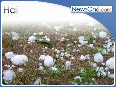 Snow Plows Needed To Clear Hail In Texas Panhandle