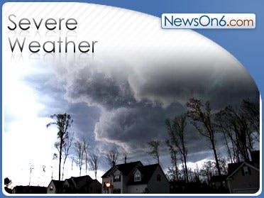 2 Killed In Ala. As Storm Sweeps Across Southeast