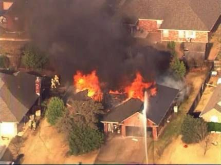 Reward Offered In Massive Midwest City Fire