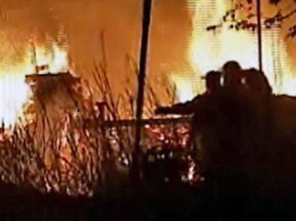 Tulsa Co. Home Burns To The Ground