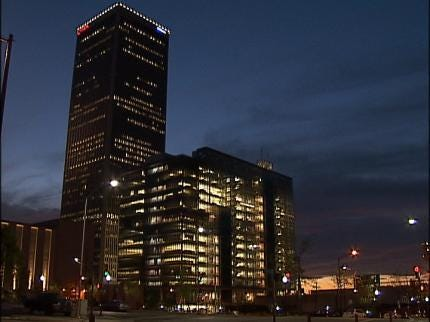 Why Do The Lights Stay On At Tulsa City Hall?