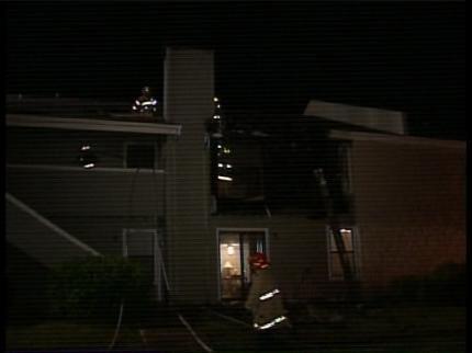 Fire Damages Several Broken Arrow Residences