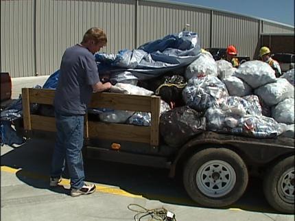 Recycling Helps Henryetta Man Stretch Time