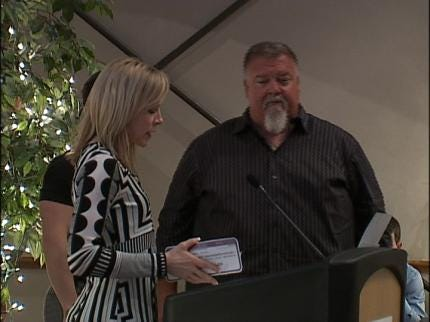 Big Tom Awarded For Weight Loss Efforts