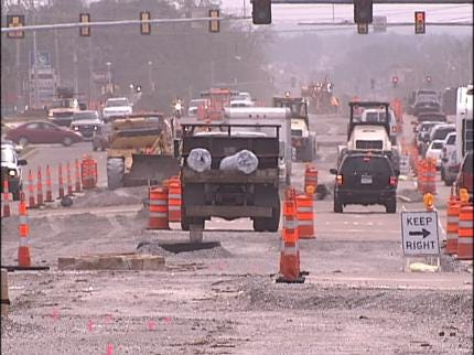 Has South Memorial Construction Stopped?