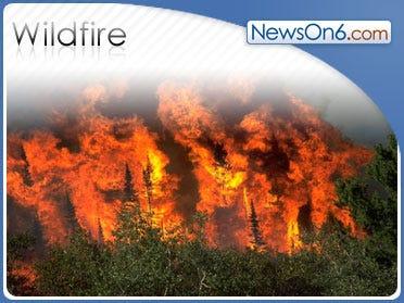 SC Wildfire Chars 3,000 Acres Near Popular Beach