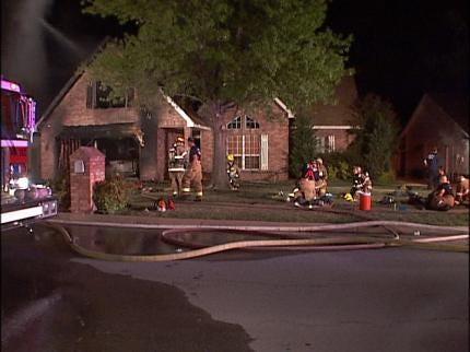 Fire Damages Broken Arrow Home