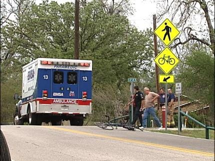 Tulsa Bicyclist Hit By Truck