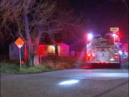 Tulsa Woman, Baby Rescued From Burning Home