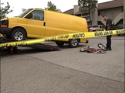 Child Dies After Being Hit By Van