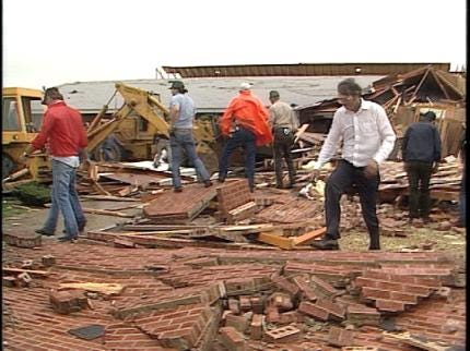 Mannford Church Remembers Twister 25 Years Later