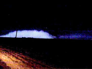 Tornado Touches Down In Enid
