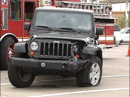 Tulsa Police Officer Injured In Accident