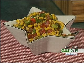 Cold Corn and Vegetable Salad