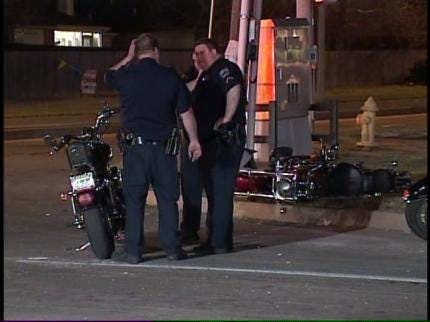 Woman Critically Injured In Motorcycle Crash