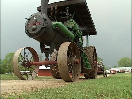 Steam And Gas Engine Show In Pawnee