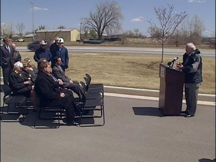 Lights On For Highway 97 In Sand Springs