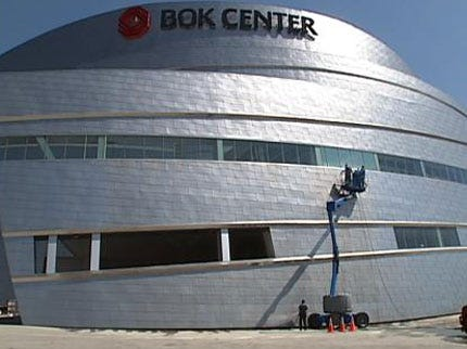 Why Is The BOK Center Stained?