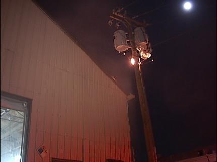 Homeless Man Starts Tulsa Business Fire
