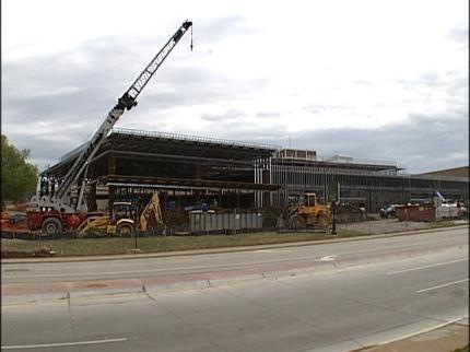 Tulsa Convention Center Work On Schedule