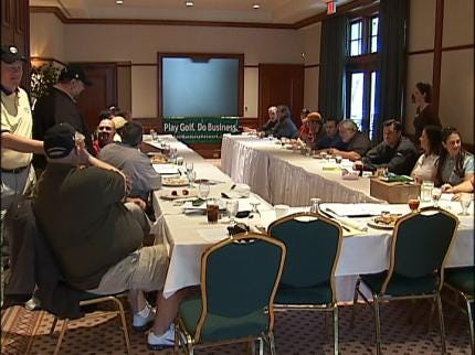 Tulsa Group Combines Networking With Golf