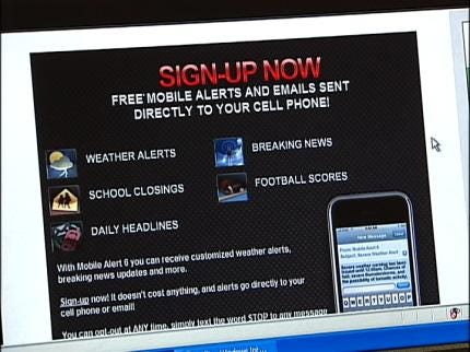 Get Customized Mobile Alerts From NewsOn6.com