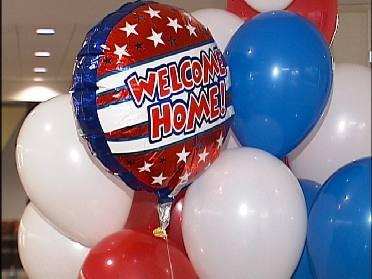 Welcome Home Ceremonies For Returning Oklahoma Soldiers