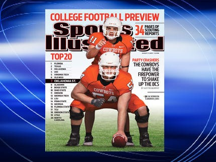 OSU Football On The Cover Of Sports Illustrated