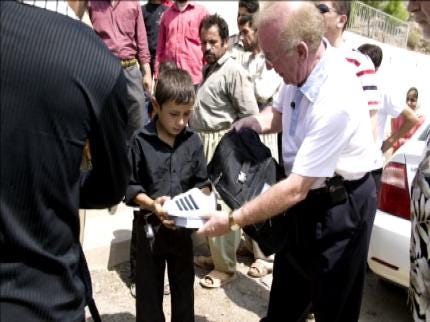 World Compassion Ministry Sending Shoes To Iraq