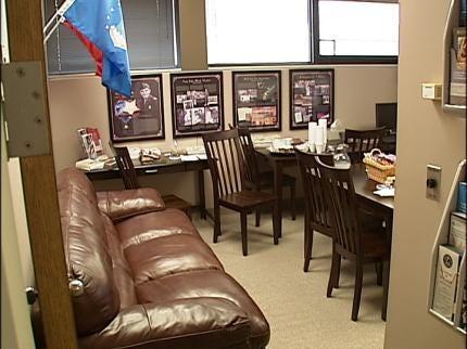 TU Opens Veterans Lounge