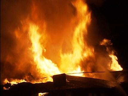 Tulsa County Home Destroyed By Fire