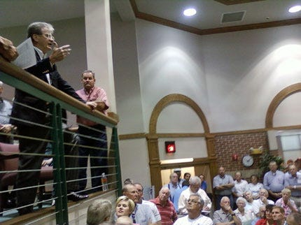 Health Care Reform Concerns Raised At Coburn's Town Hall Meeting