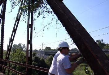 Historic Route 66 Bridge Reclaimed from Brush