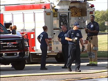 Tulsa Firefighter Suffers From Heat Exhaustion