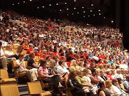 Back To School Rally Held For Tulsa Public School Teachers