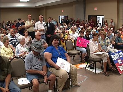 Hundreds Turn Out For Congressman Dan Boren's Town Hall Meetings