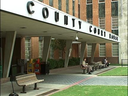 Seventh Floor Of Tulsa Co. Courthouse Evacuated