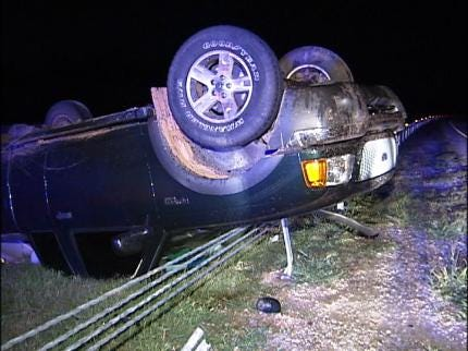 Alcohol Blamed For Highway 64 Rollover Near Prue