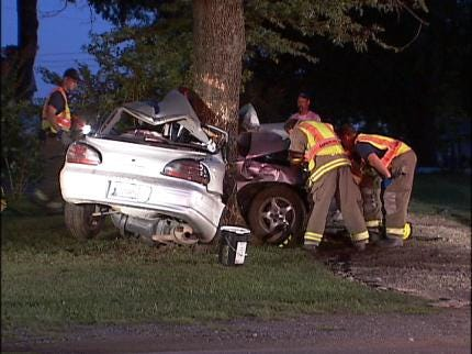 Driver Killed in Creek County Accident Late Thursday
