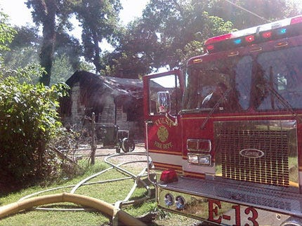 Residents Escape Harm In Tulsa House Fire