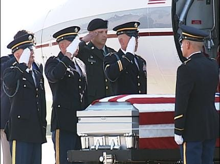 Body Of Claremore Soldier Returned To Oklahoma