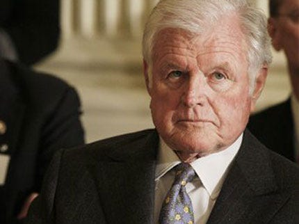 Ted Kennedy Called 'Singular Figure' In America's Life