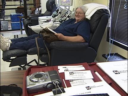 Haskell Woman Has Donated Blood 100 Times