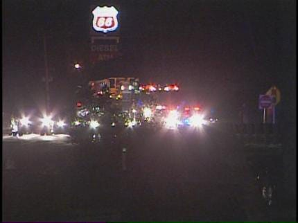Man Killed On Glenpool Highway Had Fallen From Motorcycle