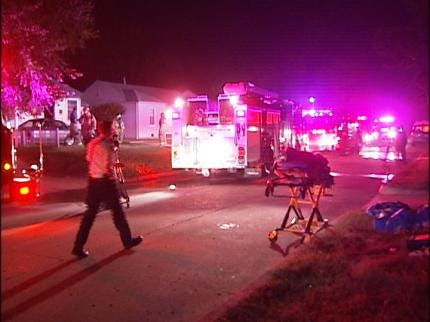 No Injuries In Overnight Tulsa House Fire