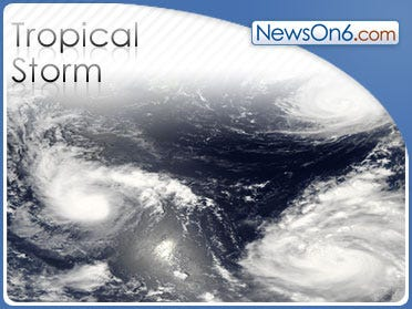 Tropical Storm Enrique Moves Across The Pacific